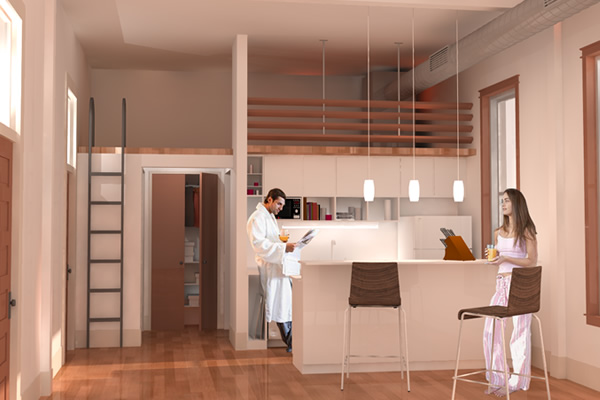 Charming One Bedroom With Loft House Plans Pictures - Best Ideas ...
